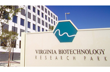 Virginia BioTechnology Research Park sign