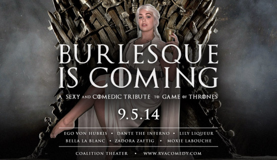 Burlesque Is Coming at Coalition Theater image