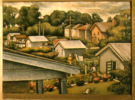 """Suburbia #2""  - 1926"