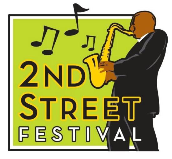 2nd Street Festival Logo