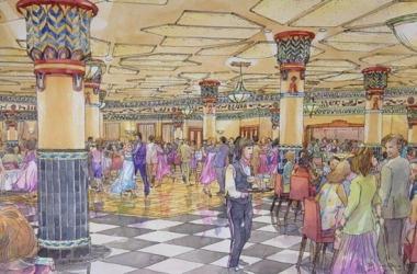 Ballroom rendering Altria Theater