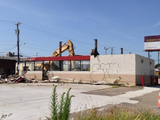 Kangaroo Gas Station Demolition