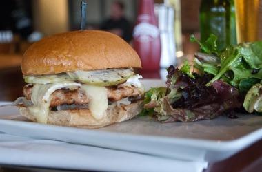 Chicken-burger-at-Burger-Bach