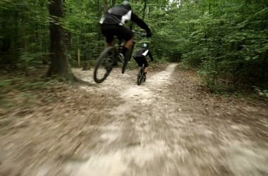 Mountain bike Pocahontas Trail