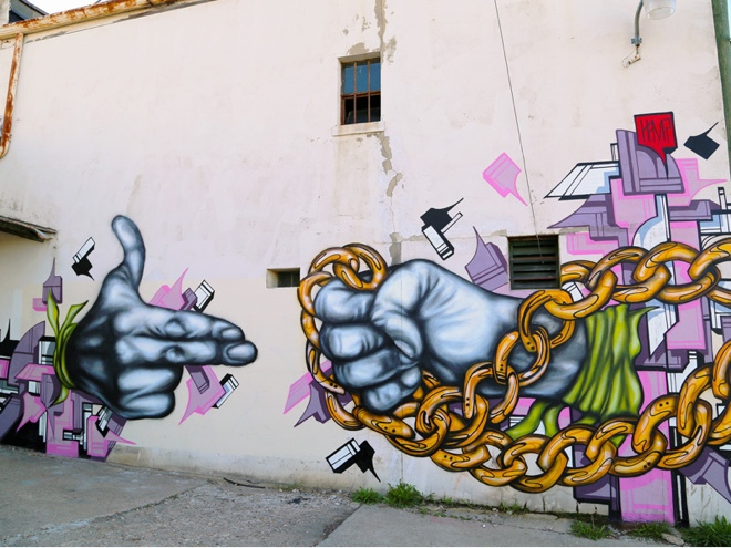 Run the Jewels mural