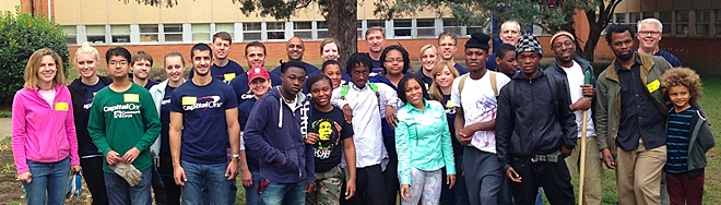 Students at George Wythe High School