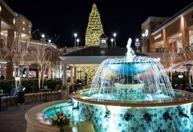 Short Pump Town Center Christmas Tree
