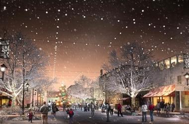 17th Street Market rendering - winter