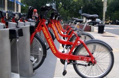 DC bike share bicycles
