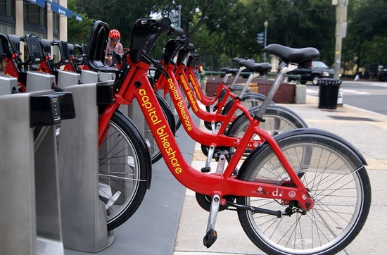 City Bikes In Dc City pedaling toward first