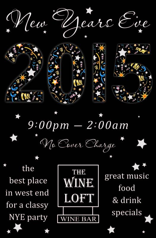 New Year's Eve Wine Loft