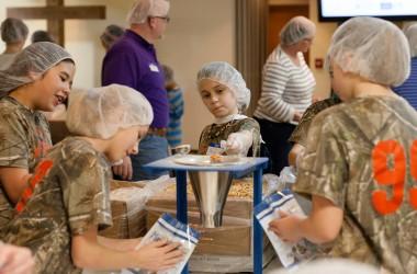 Gayton Baptist food packing