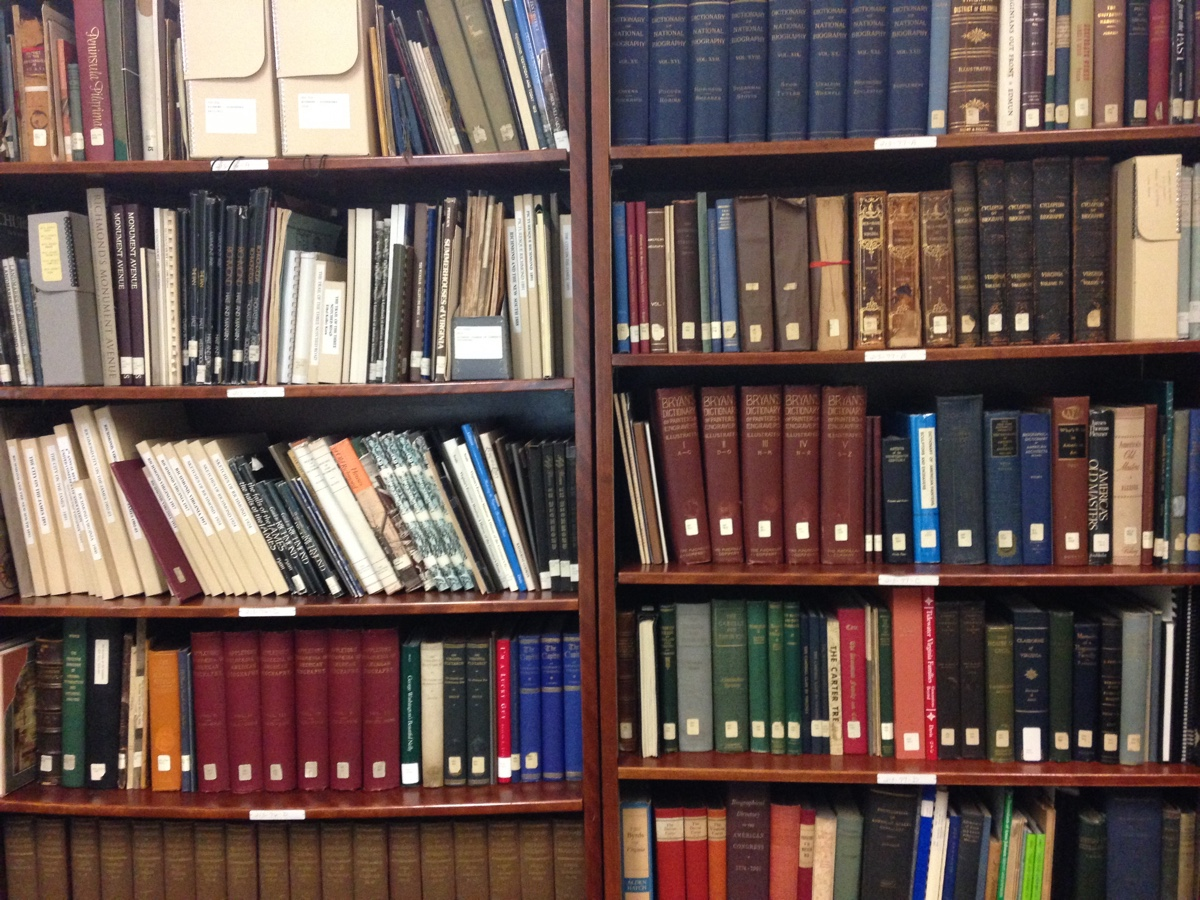The archives are divided into reference materials, photographs, and primary documents. There are many, many shelves like these. Luckily, you are not expected to navigate it.