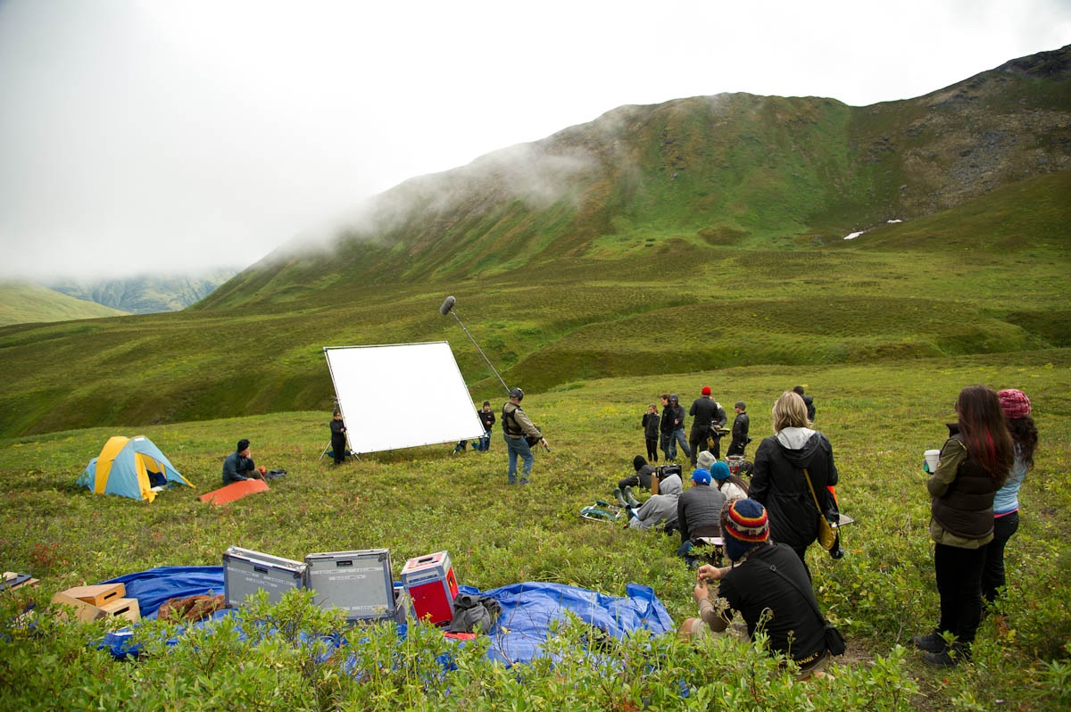 Making a movie in Alaska, which, says Green, is a seriously fun thing to do.