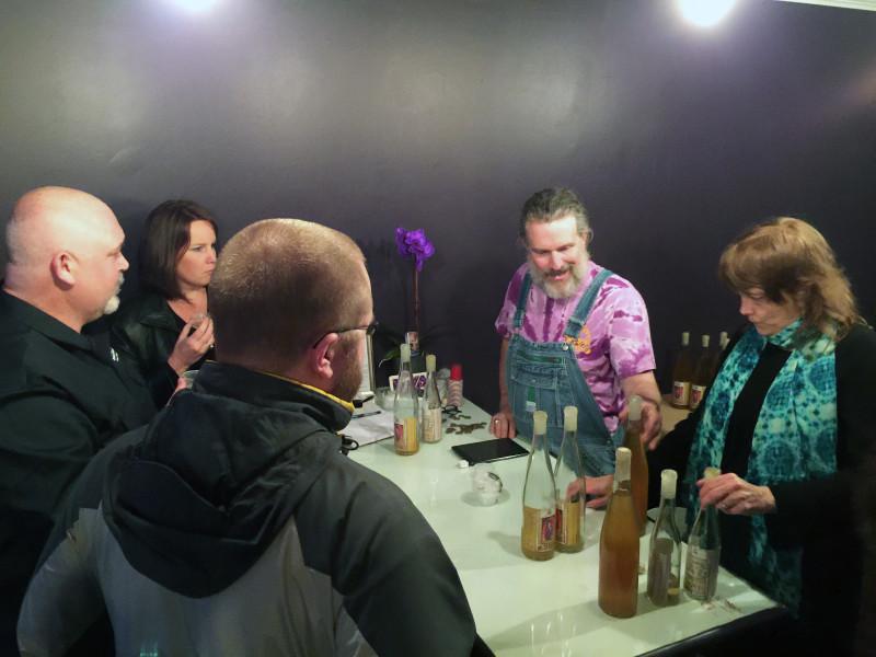 Black Heath Meadery's tasting room. Photo: RVANews/Trevor Dickerson