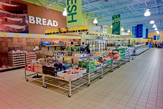aldi retail store German supermarket chain aldi is continuing to exert its dominance in the australian market, unveiling a sophisticated new store layout just weeks after changing its logo.