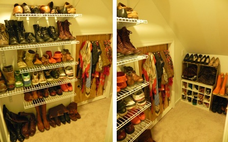 Disclaimer: This is not all of our shoes. I have no shame.