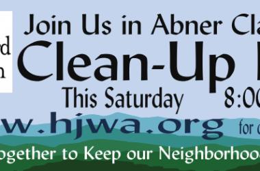HJWA Clean Up Day