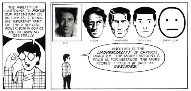From Understanding Comics, 1994