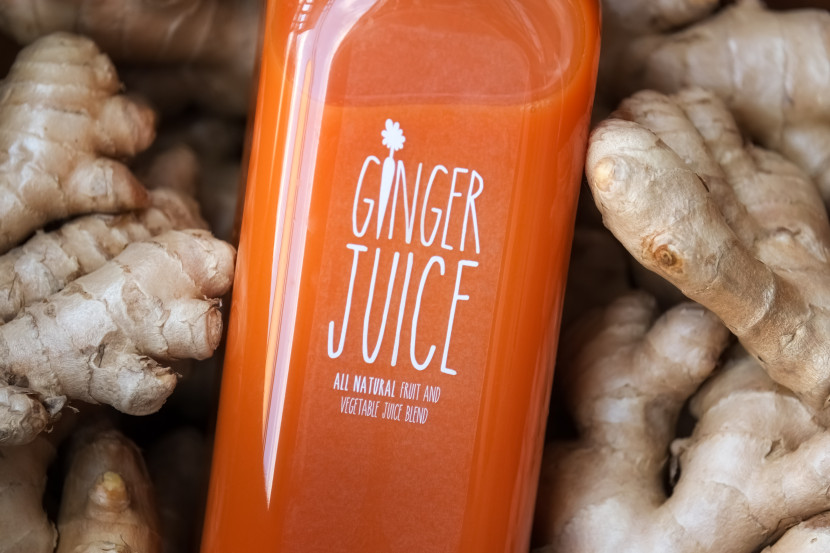 Ginger Juice - carrot