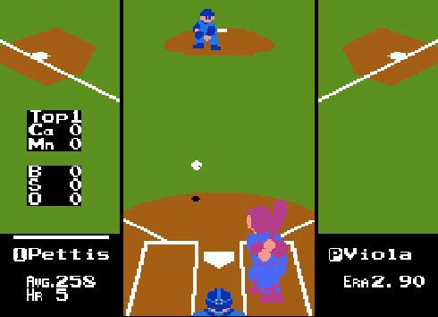 """The women's baseball team in the 1988 NES """"Major League Baseball"""" game alsoemployed this strategy, only it never worked. Their gentleness quotient was real."""