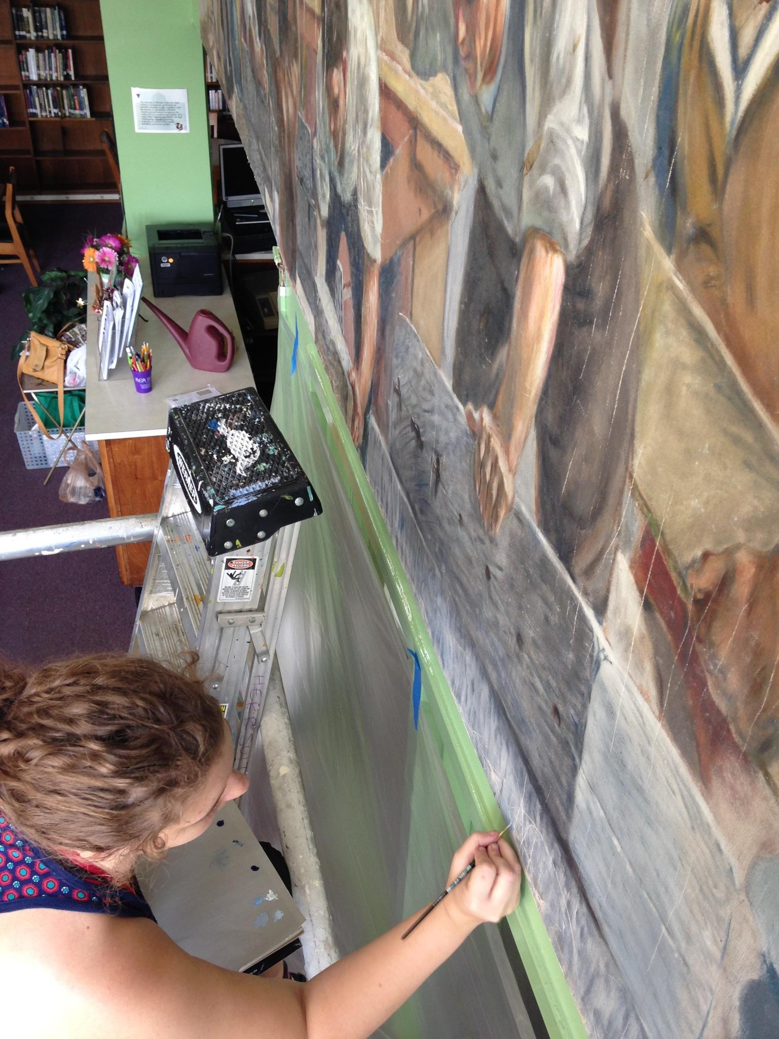 TJHS Mural Restoration