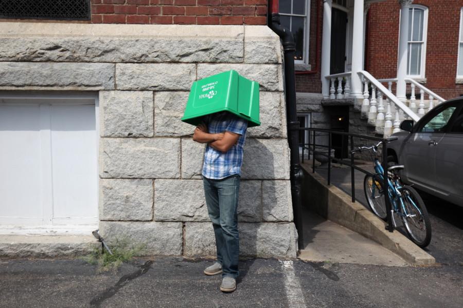 Recycling Bin Hat