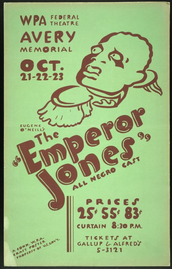 A 1938 publicity poster for the play.