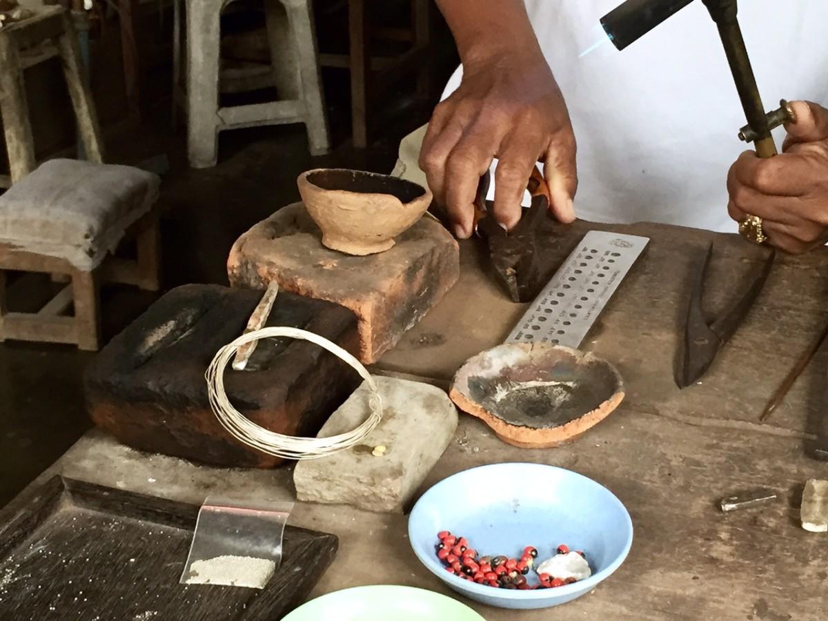 Balinese Silversmith