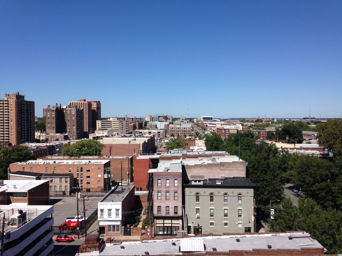 View from the rooftop, which will be open by November 1st.