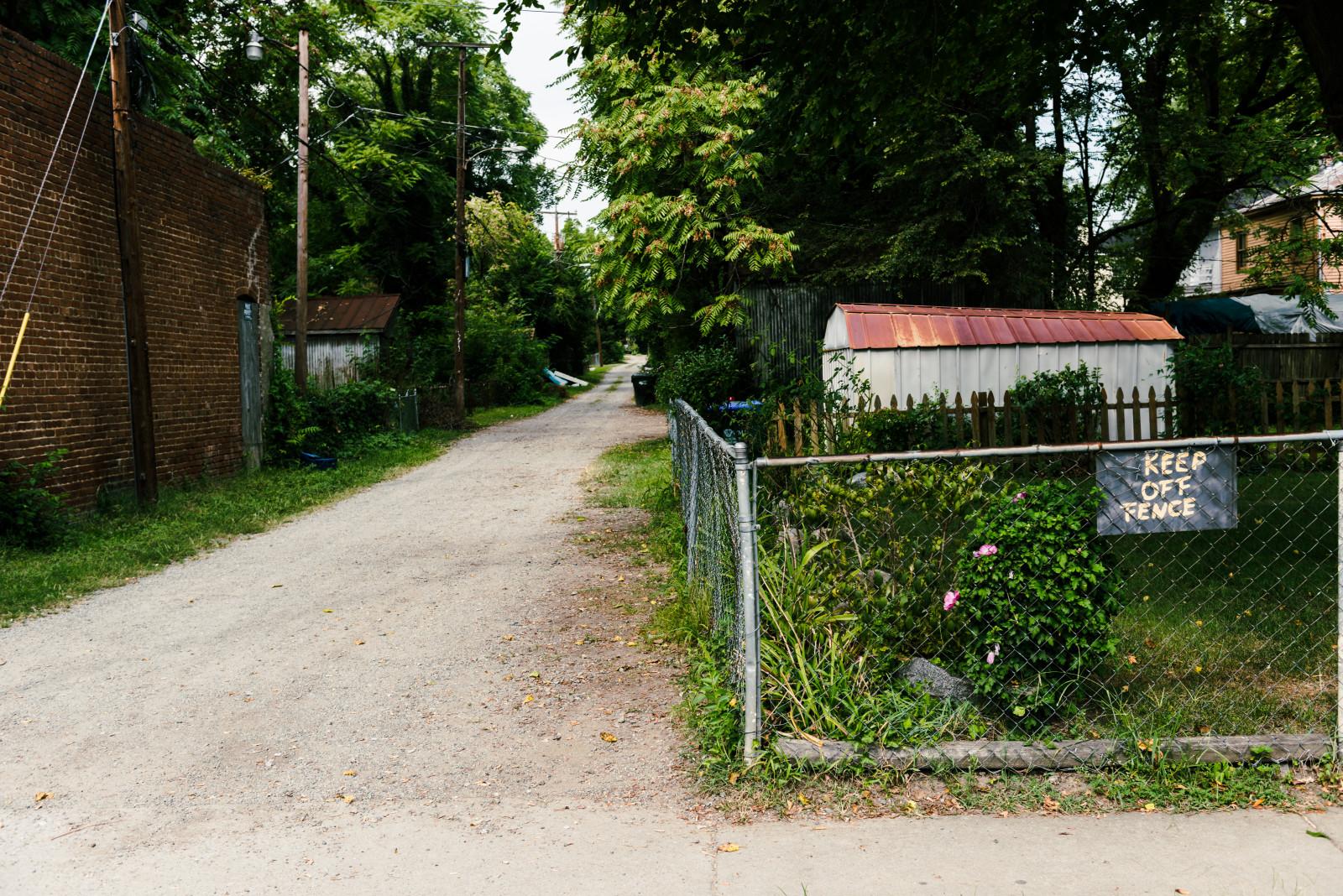 Between Enslow Avenue and Carolina Avenue, off of Meadowbridge Road