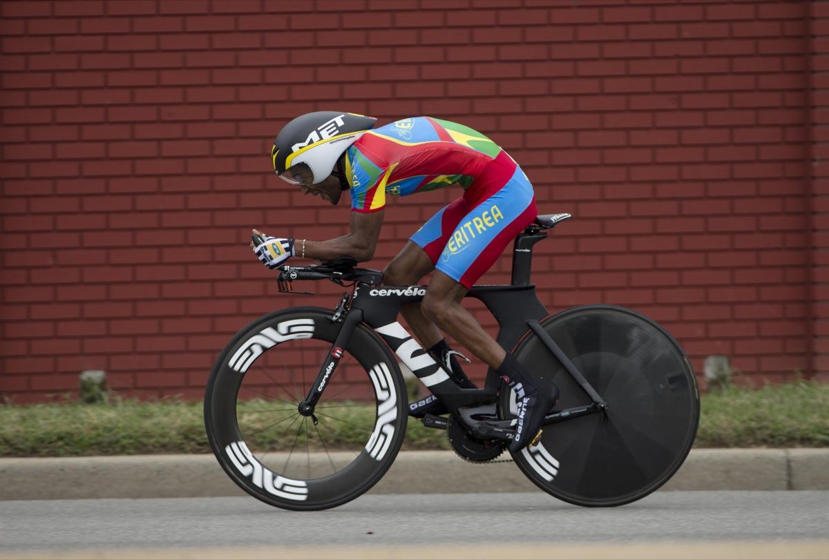 U23 men's time trial. Photo by Richmond 2015/Casey B. Gibson.