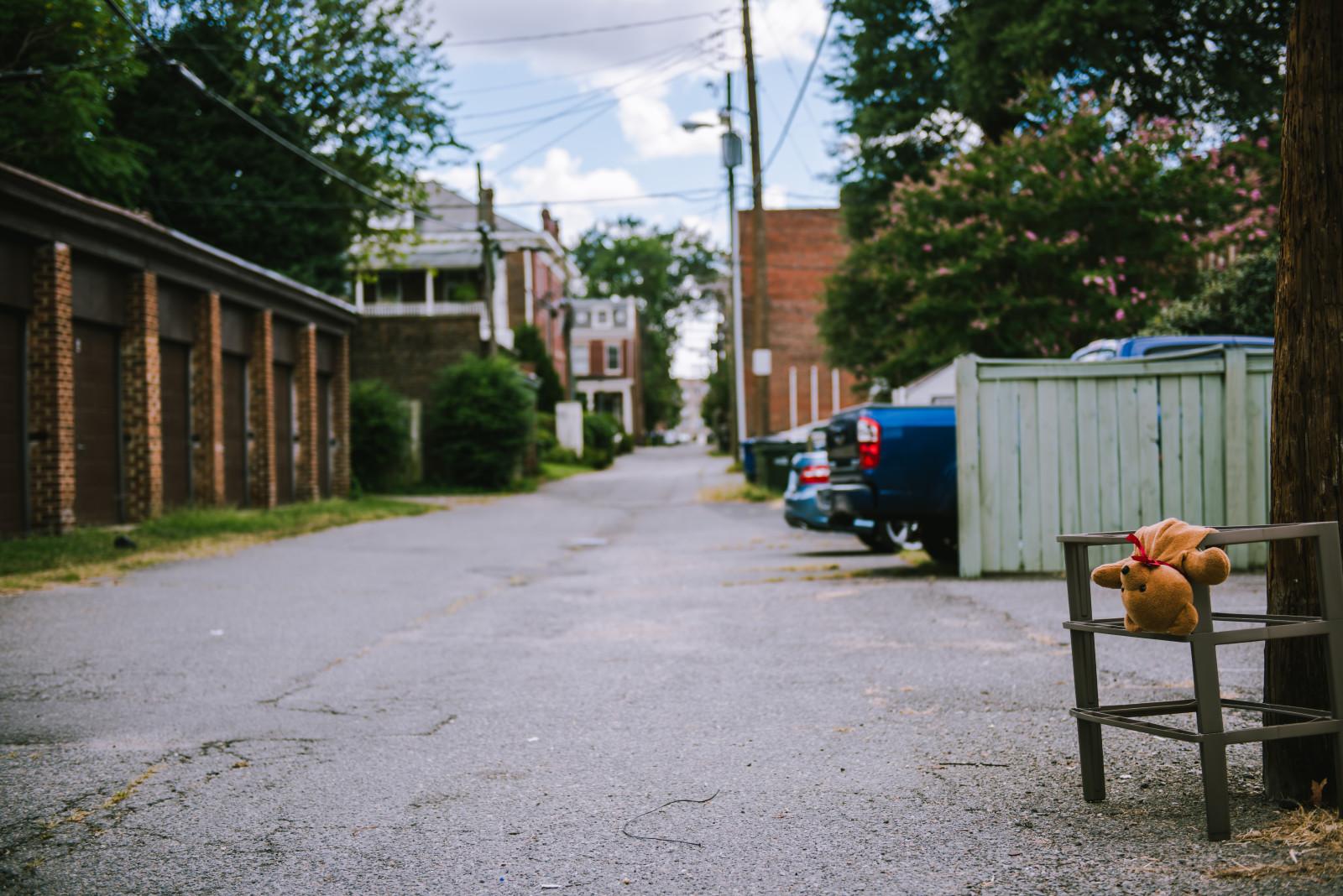 Between N. Mulberry Street and N Boulevard, off of Kensington Avenue.