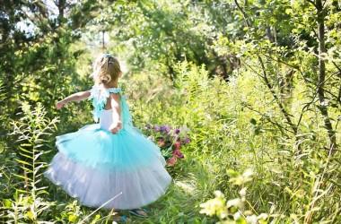 little girl ball gown