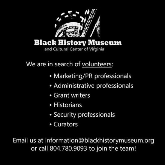 Black History Museum Volunteers