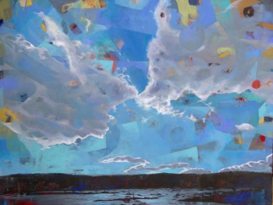 Acrylic on canvas 30x40